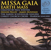 Missa Gaia Earth Mass album cover