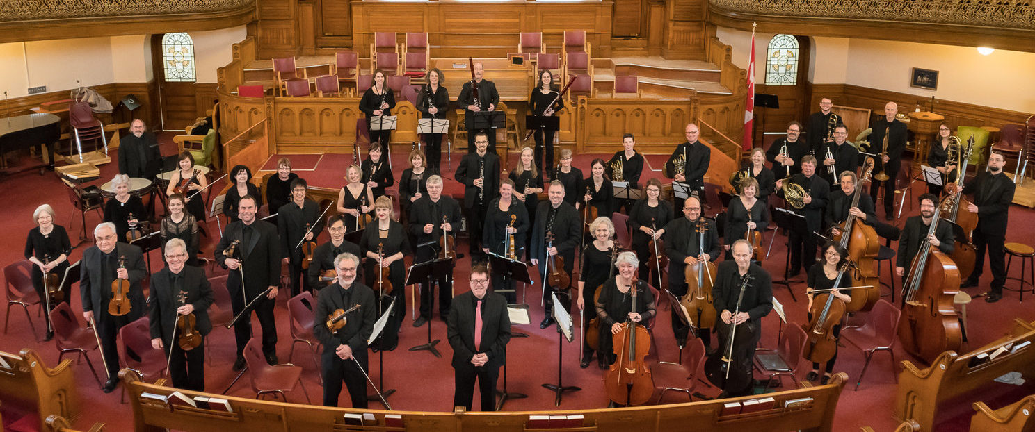 Group photo of the London Symphonia